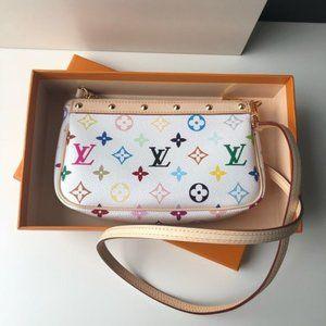 LV Pochette Accessoires Monogram Multicolor bag